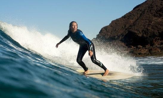 Surfing Board Courses In Fregene, Italy