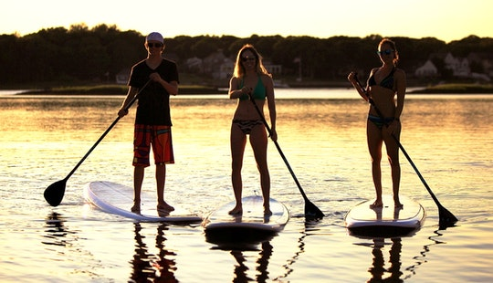 Sup Lessons And Rentals In Fregene, Italy