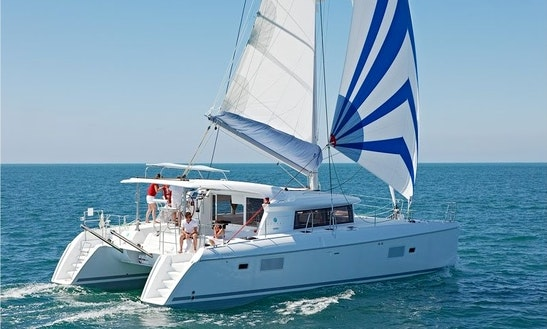 Cruising Skipped Catamaran