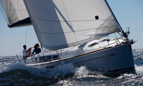 """Luxury Sailing Charter """"Tyche"""" in Belgium"""