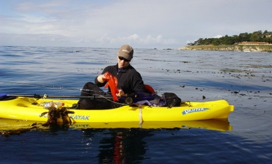 Kayak Fishing In Monterey & On The San Francisco Coasts