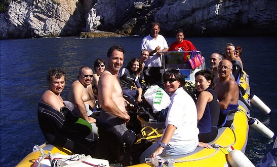 Rib Diving Charter In Los Abrigos, Spain