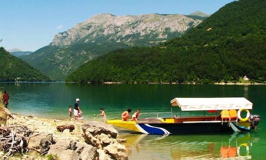 Passenger Boat Charter In Pluzine, Montenegro