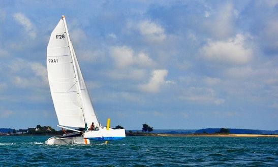 Cruising Catamaran Charter In Arradon, France