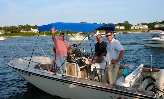 20ft Luxury Center Console Boat Charter In Yarmouth, Massachusetts
