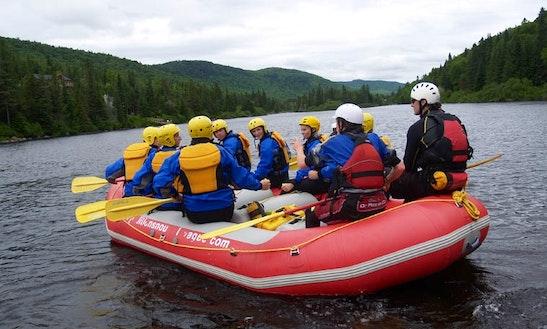 Rafting Adventure In Québec