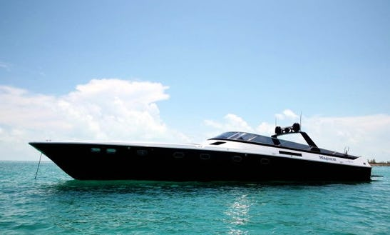 Charter 70' Magnum Power Mega Yacht In Rome, Italy