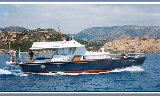 Charter 52' Baglietto Ischia Power Mega Yacht In Rome, Italy