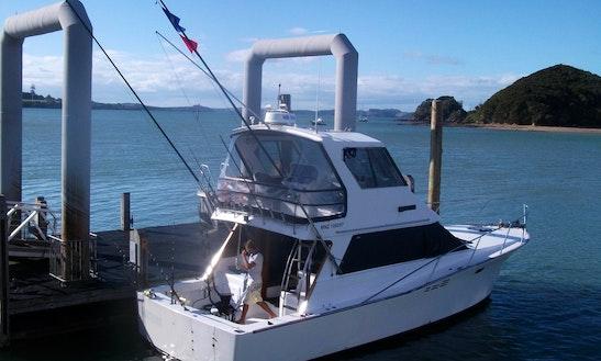 43' Sportfisher Yacht In Bay Of Islands, New Zealand
