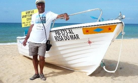 Motor Boat Rental In Armação De Pêra, Purtogal