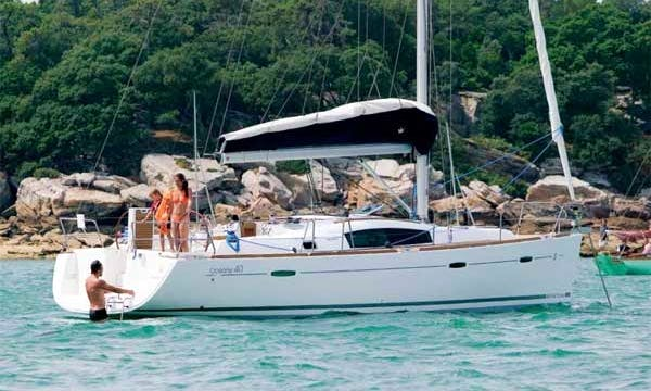 """Luxury Sailing Charter """"Dinki Di"""" in Croatia"""