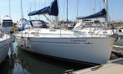 """Charter on """"Empowered"""" Bavaria 38 Sailboat in Southampton, UK"""