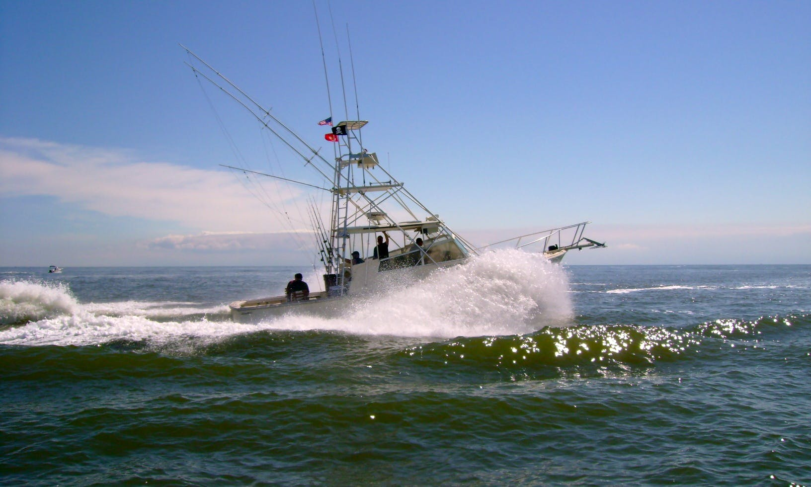 Fishing Charter Trips for 6 Person in Cape May, New Jersey