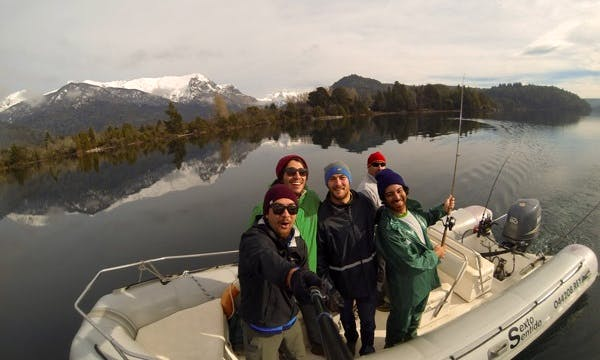 Guided Fishing Tour on RIB in Patagonia Argentina