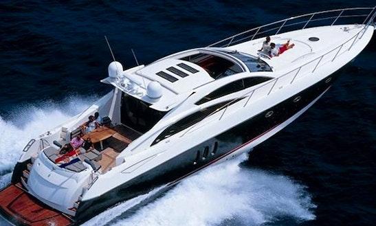 Charter 72' Motor Yacht Sunseeker Predator In Dubai, United Arab Emirates