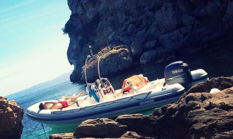 Rent a 20' RIB in Palma, Spain for up to 6 person