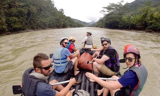 River Rafting In La Paz, Bolivia