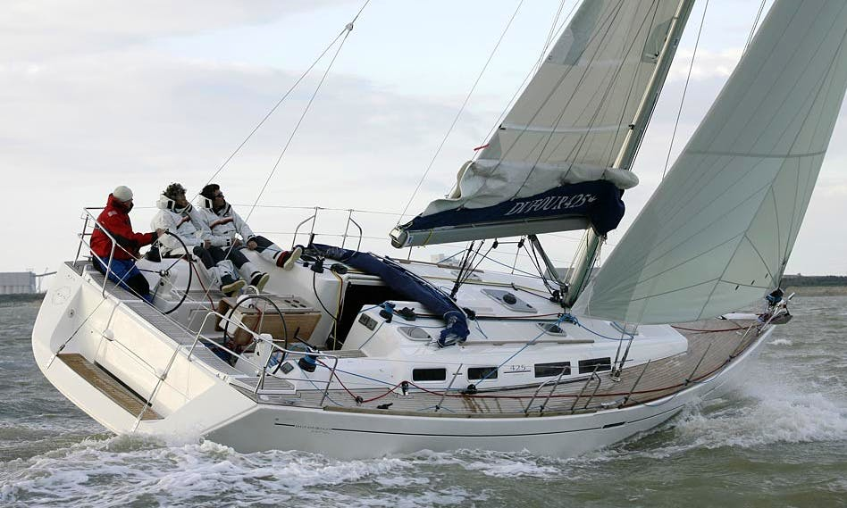 """""""DUFOUR 425 GRAND'LARGE"""" Luxury Sailing Charter in Spain"""