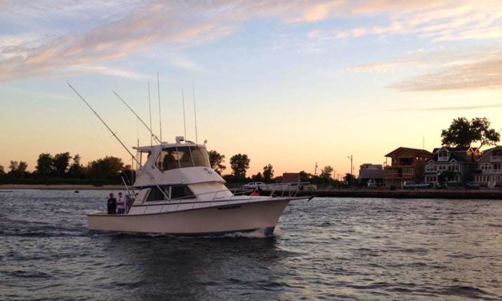 38ft henriques sportfisherman yacht charter in point for Fishing boats point pleasant nj