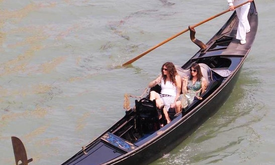 Canal Boat Charter In Venezia, Italy