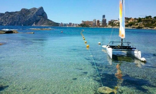 Beach Catamaran Rental In Calp, Spain