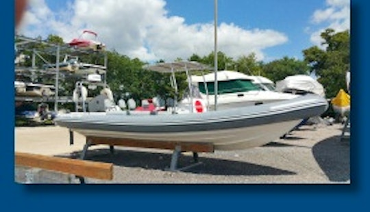 Rigid Inflatable Boat For 12 People For Rent In Cowes