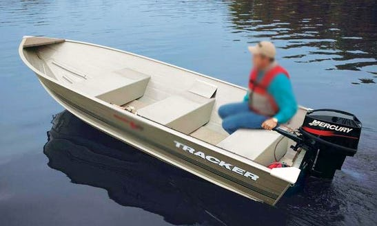 25 Hp Motorboat Rental In Moffet