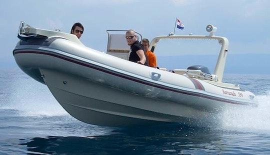 Rent A Barracuda 590 Rib For 7 People In Bol   Island Brac