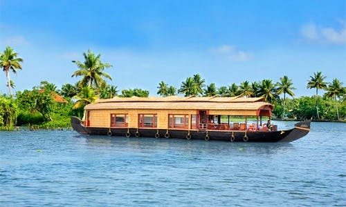 Houseboat Package for 6 People in Kerala, India