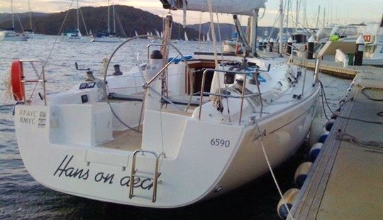 Charter Captained Crusing Monohull From Mooloolaba, Queensland, Australia