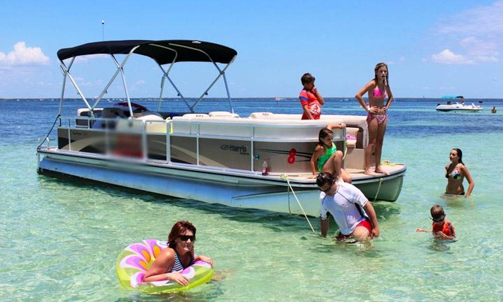 20 Pontoon Boat In Fort Walton Beach Florida Getmyboat