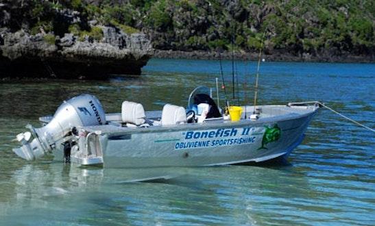 16' Fishing Boat In Lord Howe Island
