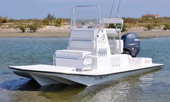 21' Shallow Sport Boat In South Padre Island