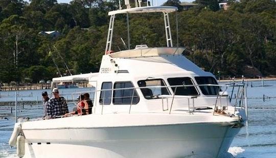 Offshore And Inshore Fishing Trip Aboard 43ft Pro Fisher Stebercraft In Merimbula, Australia