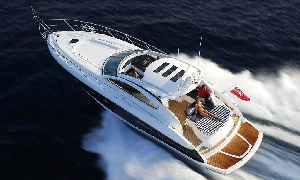 ''Sunseeker Portofino 47'' Luxury Motor Yacht Charter in Spain