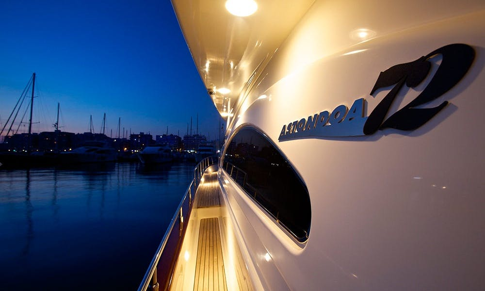 Luxury ''Astondoa 72'' Power Mega Yacht Charter in Spain