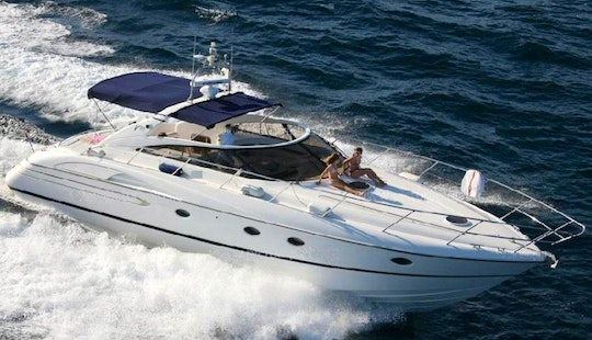 Luxury ''princess V50'' Power Mega Yacht Charter In Spain
