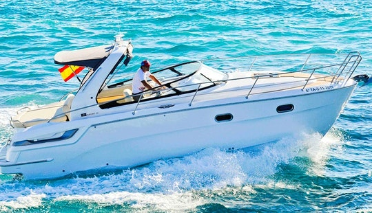 Luxury ''bavaria 28 Sport'' Motor Yacht Charter In Spain
