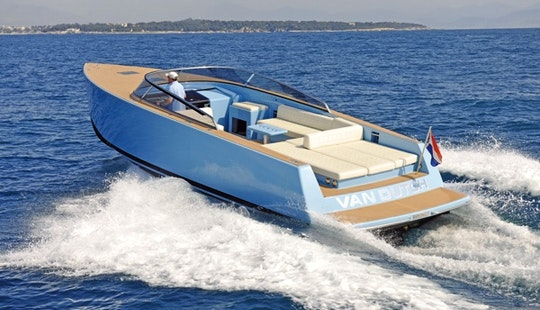 Luxury ''van Dutch 40'' Motor Yacht Charter In Spain