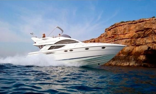 Luxury ''fairline Phantom 46'' Motor Yacht Charter In Spain