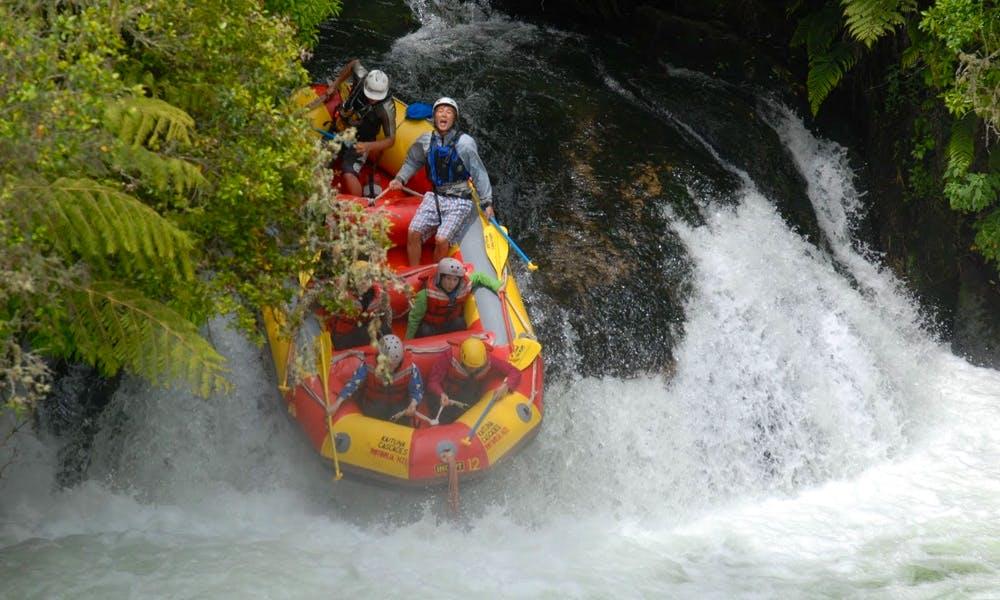 Rafting in ROTORUA