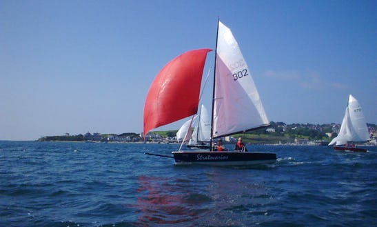 16ft Laser Stratos Daysailer Charter In Falmouth, Uk