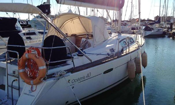 40' Oceanis Sailing Yacht Charter In Spain