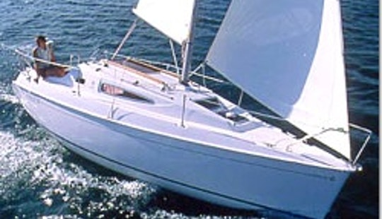 Charter On Sun Odyssey 24.2 In Biograd Na Moru