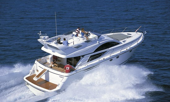 Charter A Phamton 50 Fly Motor Yacht For 15 People In Port D'andratx