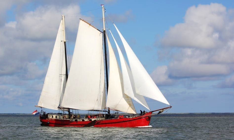"Charter on 118ft ""Mare Marieke"" Schooner in Harlingen"
