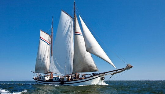 Charter The 98' Sailing Schooner In Harlingen