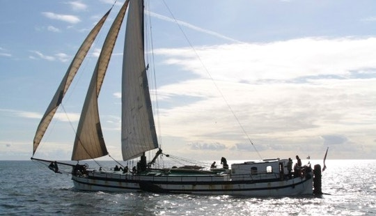 Charter A 84' Sailing Schooner For 30 People In Harlingen