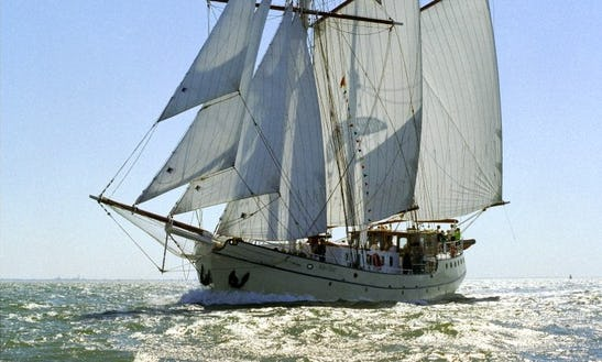 Sail With The 121' Sailing Schooner In Harlingen