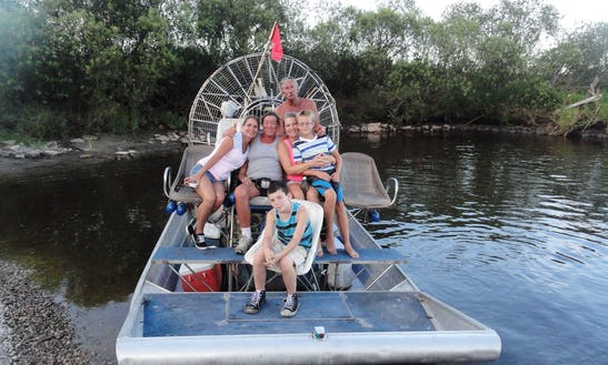 Airboat Rides In Christmas, Florida With Captain Ray